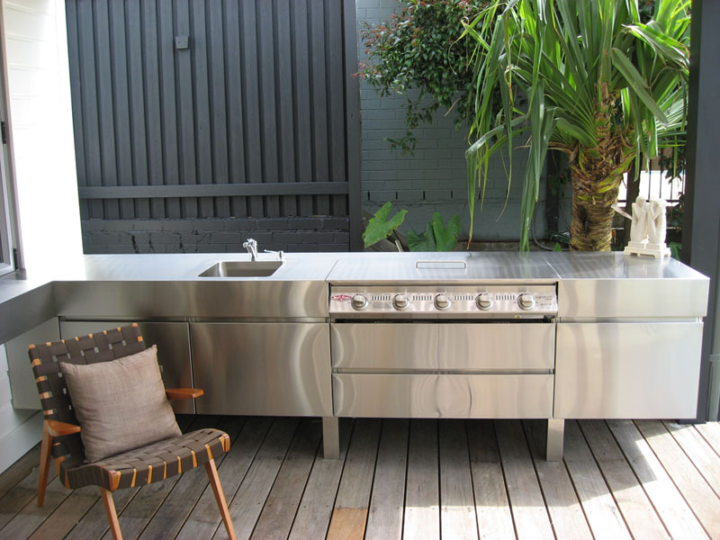 Domestic bbq s for Stainless steel outdoor kitchen