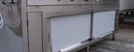 Stainless Steel Food Preparation Units