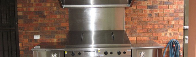 Stainless Steel BBQ and Storage Units