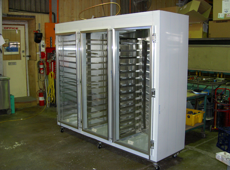 Mobile refrigeration units for Take away kitchen units