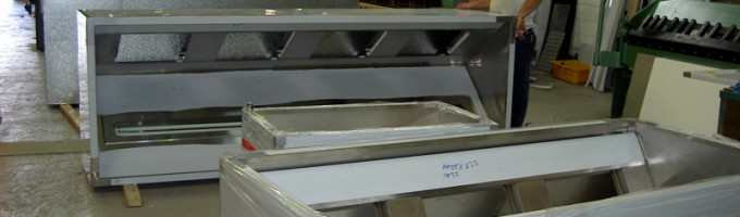 Exhaust Hoods Manufactured in our Factory