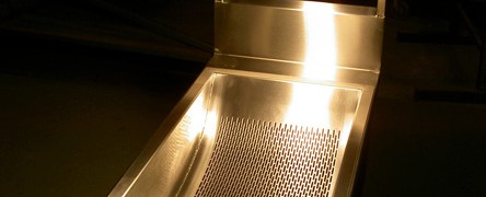 Stainless Steel Frying Drip Trays and Heaters