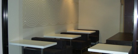 Stainless Steel Cafe Furniture